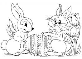 Happy Easter Coloring Pages Printable 2016 Bunny Kids Colouring