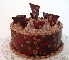cake chocolate transfer sheets