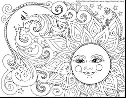 Coloring Pages Free Printable Flower Mandala Printables Abstract Sheets Adult