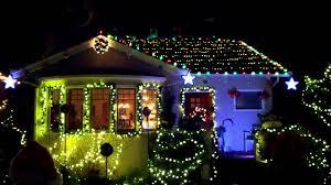 Christmas Tree Lane Alameda by Christmas Tree Lane On Thompson Avenue Alameda Youtube