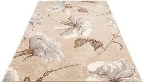 teppich sofia my home rechteckig höhe 13 mm blumen design wohnzimmer kaufen otto