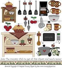 Kitchen Baking Cooking Clipart 4 5
