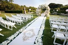 Oheka Castle Outdoor Wedding Ceremony