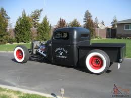100 1939 Gmc Truck Ford Rat Rod Pickup 91C Notched Bagged In Rear