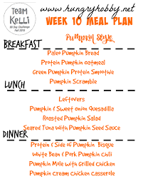 Paleo Pumpkin Chili by Meal Plan 10 Pumpkin Themed Fall 2015 90 Day Challenge Hungry