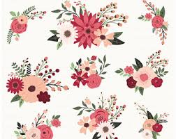 Rustic Clipart Wedding Floral 10