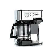 Hamilton Beach Scoop Single Cup Coffee Maker 2 Way Serve