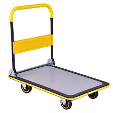 Folding Platform Cart Dolly Push Hand Truck Moving Warehouse ...
