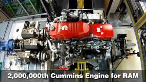 Cummins Builds Two-Millionth Pickup Engine For Ram HD Trucks - YouTube
