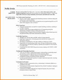 Get Awesome Law Enforcement Resume Template Sample Of Download Free Entry Level Jpg