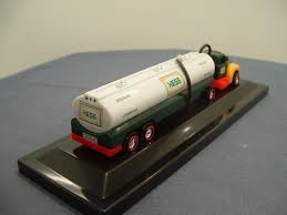 Hess Oil Co - 2004 Miniature Tanker Truck | ToysNZ Hess Oil Co 2004 Miniature Tanker Truck Toysnz Hessother Toy Lot Of 23 In Original Boxes 40th Anniversary Suv With 2 Motorcycles Ebay 2016 And Dragster Gift Ideas Pinterest Hess Review By Mogo Youtube Fun For Collectors The 2017 Trucks Are Minis Mommies Style Cheap Share Price Find Deals On Line At Sport Utility Vehicle Similar Items And Toys Values Descriptions Set Of 3 2003 2012 Sale
