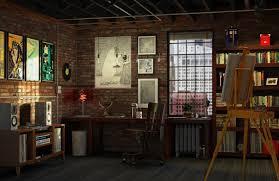 100 Art Studio Loft Luke Morgan Series
