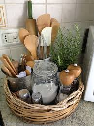 Kitchen Storage Ideas Pinterest by Best 25 Kitchen Baskets Ideas On Pinterest Kitchen Storage