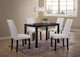 Kings Brand Wood Dining Dinette - Kitchen Table & 4 Upholstered Parson  Chairs (White) Marvellous Parsons Ding Chairs Upholstered Room Skirted Walmart Black Friday 2019 Best Deals On Fniture The 8 At In Sets Mandaue Foam Chair Set Of 2 Forest Green Velvet Like Scott Living Bishop Farmhouse Table With Parson Faux Leather Charming Custom West Large Stunning White Marble Linen Tan Nailhead Trip Lilah 3pc Latest Home Decor And Design