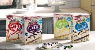 say cheese cake mit dr oetker cheesecakes american style