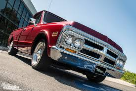 100 Classic Industries Chevy Truck 1971 GMC Pickup Candy Red Restomod
