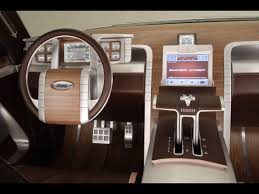 100 Ford Super Chief Truck 2006 F250 Concept Dashboard 1280x960 Wallpaper