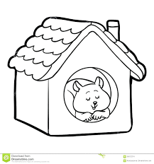 White House Coloring Book Pages Children Hamster Lighthouse Haunted Page Full Size