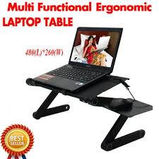 table ordinateur portable canapé support de table multi fonctionnel ergonomique portable mobile