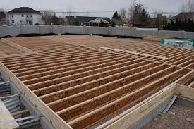 Floor Joist Span Table For Sheds by How To Build A Floor For A House Icreatables Com