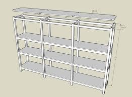 basement shelf plans jan 6 2014 building a wooden storage shelf in