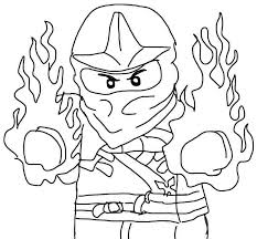 Ideas Of Ninjago Coloring Pages Free In Resume Sample