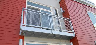 Exterior: Stunning Image Of Home Exterior Decoration With Triple ... Roof Tagged Ideas Picture Emejing Balcony Grill S Photos Contemporary Stair Railings Interior Wood Design Stunning Wrought Iron Railing With Best 25 Steel Railing Design Ideas On Pinterest Outdoor Amazing Deck Steps Stringers Designs Attractive Staircase Ipirations Brilliant Exterior In Inspiration To Remodel Home Privacy Cabinets Plumbing Deck Designs In Modern Stairs Electoral7com For Home