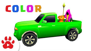 100 Pick Up Truck Song PICKUP TRUCK SONG Super Cars For Kids H Colour For Kids