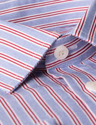 men u0027s blue u0026 red multi stripe extra slim fit dress shirt french
