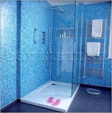 blue shower tile design ideas 盪 looking for walk in shower in