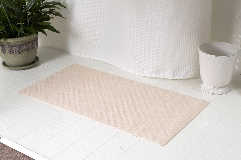 Carnation Home Fashion's Rubber Shower Mat