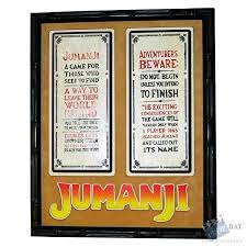 Jumanji Game Rules Movie Prop From 1995 Online