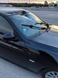 Loose Trailer Hitch Flies Through Car's Windshield On I-45 In Texas ...