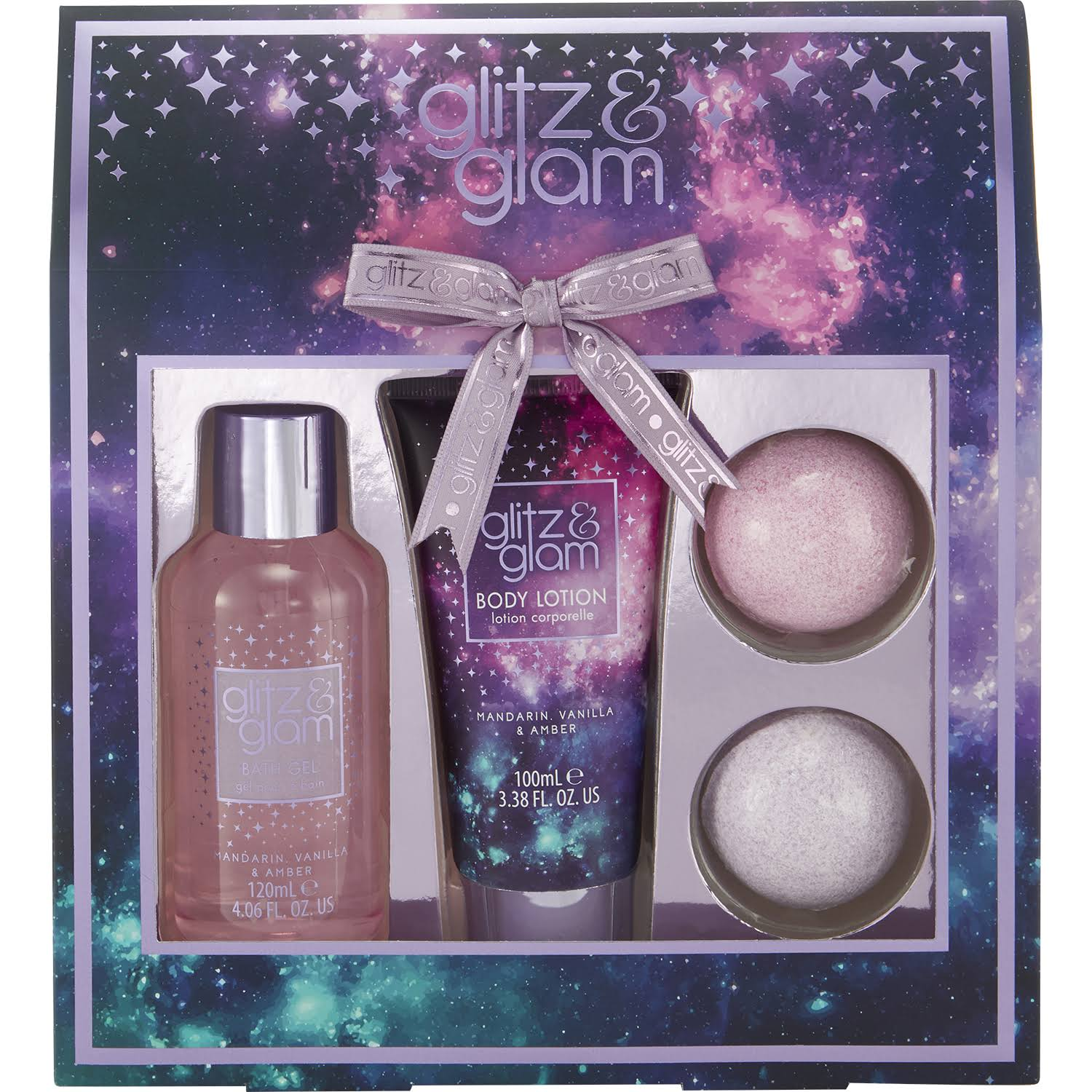 Style & Grace Glitz & Glam Galaxy Gift of the Glow - 3 Pieces