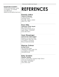 References Format Resume Sample With On Available Upon Request