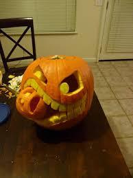50 Great Pumpkin Carving Ideas You Won U0027t Find On Pinterest by Diy Pumpkins Crafts Diy Cannibalistic Pumpkin Carving Diy