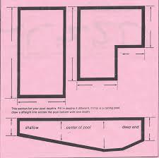 Pool Diagram Estimate Form Neptune And Slide Resurfacing Company
