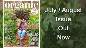 Gardening Australia Organic Gardener Magazine