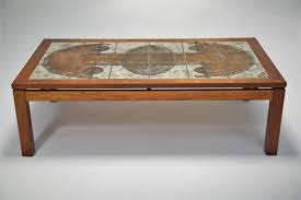 coffee table tile top coffee table by ox arts and crafts ox