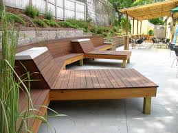 Benches Lounge Patio Backyard How To Color Outdoor Wood ...