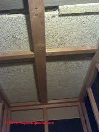 Asbestos Ceiling Tile Identification by Asbestos Free Ceiling Tiles How To Recognize Or Test To