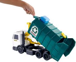Other Toys - Matchbox Garbage Large-scale Recycling Truck 15