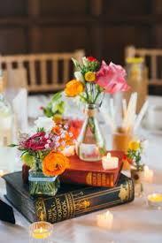 Fun Country House Wedding In Essex Short CenterpiecesVintage