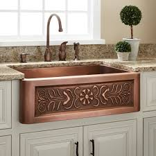 Copper Sinks With Drainboards by Kitchen Large Copper Sink Copper Sink With Drainboard Kitchen