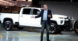 100 Big Chevy Truck GM Unveils Silverado HD As Detroits 3 Battle For Big Profits