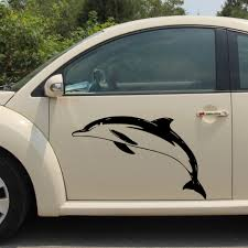 100 Truck Door Decals Free Shipping 1PC Dolphin 800mm Side Stripe Graphic Vinyl Sticker