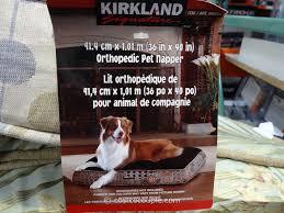 Kirkland Dog Beds by Kirkland Dog Bed Memory Foam Bedding Bed Linen Dog Beds And Costumes