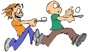 Racing clipart egg and spoon race 12 877