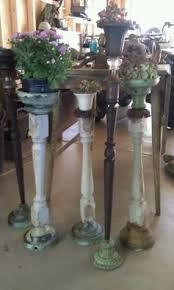 Patio Plant Stands Wheels by Spindle Plant Stands Need To Adapt Idea Into Funky Candlesticks