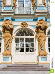 100 Atlant The Figure Of On The Facade Of The Catherine Palace